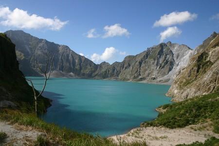 lave: philippines volcano Stock Photo