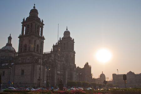mexcio catedral Foto de archivo