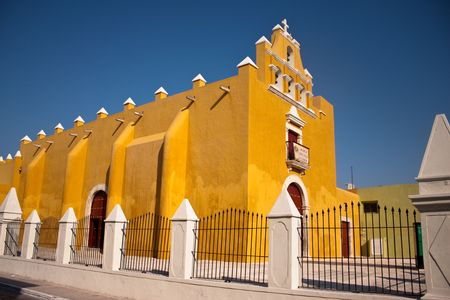 campeche old town church