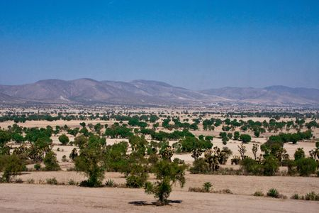 chihuahua desert: mexico mountains