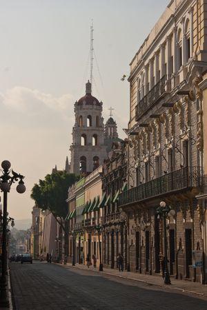 Iglesia Vieja de ciudad de Puebla