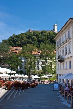 ljubljana old town Stock Photo - 7424038
