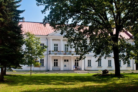 chopin heritage: Polish White Palace Stock Photo