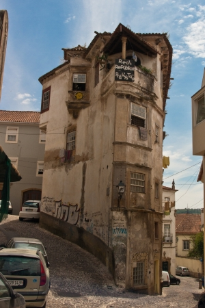 Coimbra Old town in Portugal photo