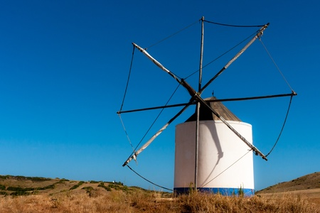 Portugal Wind Mill photo