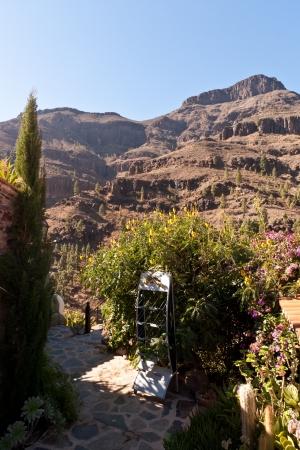 gran canaria: Gran Canaria Bergen Stockfoto