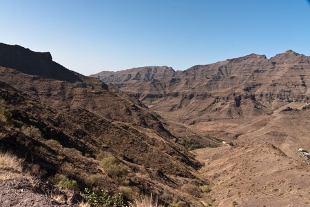 gran canaria: Gran Canaria Mountains