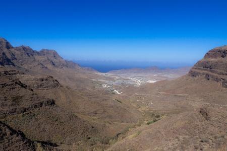 gran canaria: Gran Canaria Bergen Cliffs