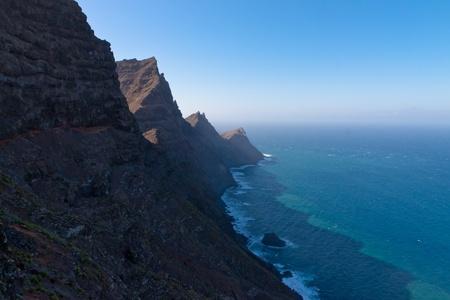 Gran Canaria Mountains Cliffs