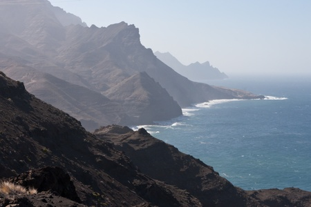 Gran Canaria Mountains Cliffs photo