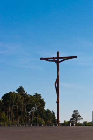 Cross in Fatima photo