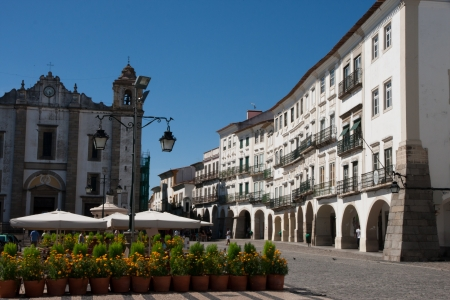 Evora Old town