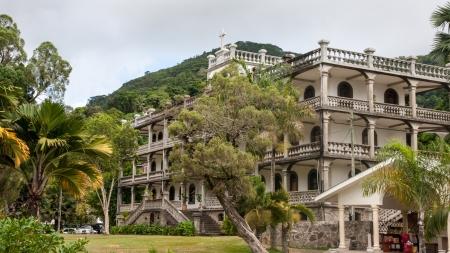 Seychelles Victoria Monastery 版權商用圖片 - 20069861