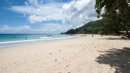 beau: Baie Beau Vallon Beach in Seychelles