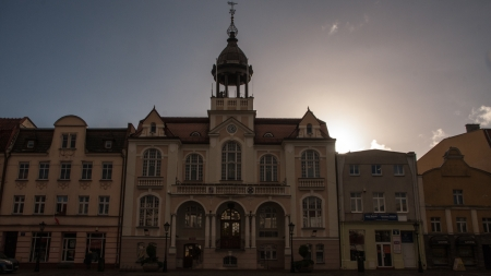Wejherowo old town in Poland in Pomerania region photo