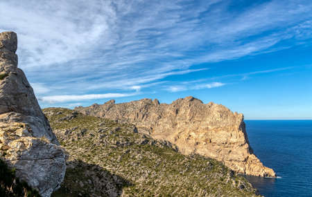 Cap de Formentor on the northern tip of Mallorca Stock fotó
