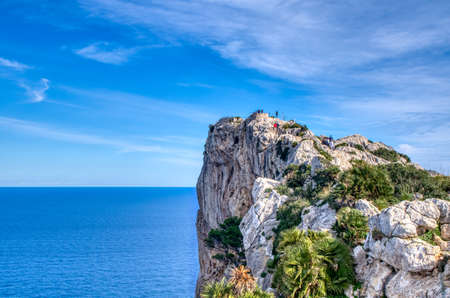 Viewpoint at Cap de Formentor in the north of Mallorca