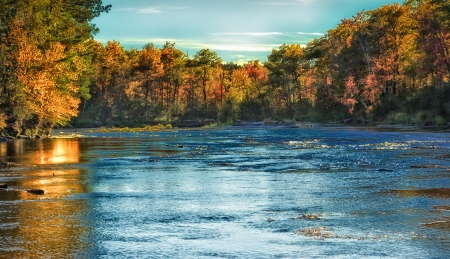 Minnesota translated into Dakota means  from the land of sky blue waters   Banco de Imagens