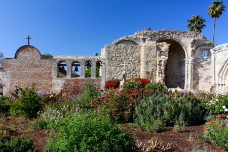 Beautiful Gardens at Mission San Juan Capistrano photo
