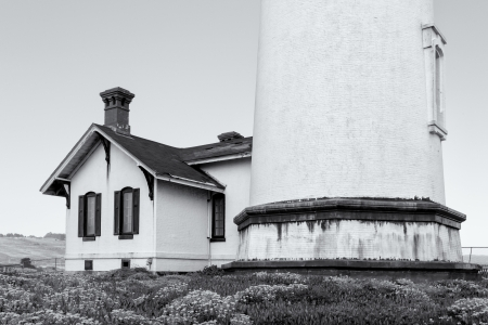 Pigeon Point Lighthouse in San Francisco Bay, California.