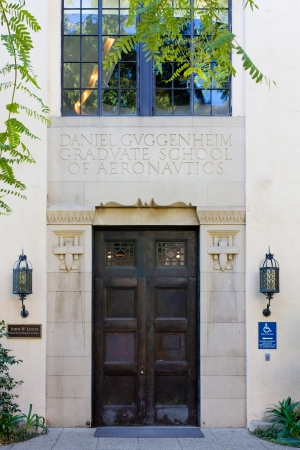 institute of technology: PASADENA, CAUSA - October 1: Daniel Guggenheim School of Aeronautics on the campus of the California Institute of Technology. Caltech is a research university in Pasadena, CA and home to 32 Nobel Prizes. October 1, 2013.