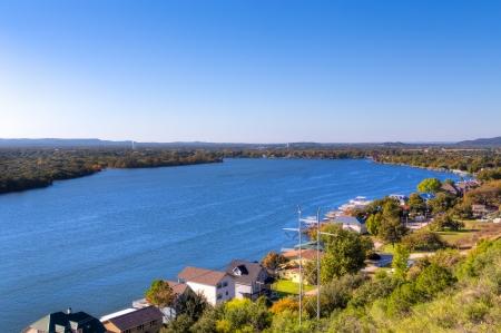 Lake Lyndon B. Johnson in the Texas Hill Country