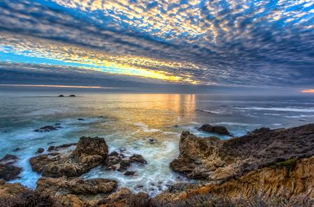 Garrapata State Beach Sunset