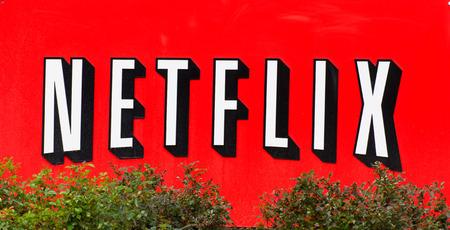 シリコン ・ バレー サンタクララ、カリフォルニア米国 - 2014 年 3 月 1 日: Netflix の施設。ネットフリックスは、オンデマンドでインター ネット ビ