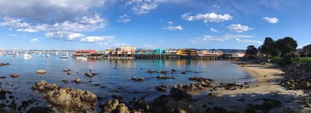 Monterey Bay Panorama 写真素材