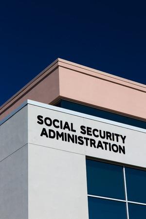 s�curit� sociale: Social Security Administration Office Building aux �tats-Unis