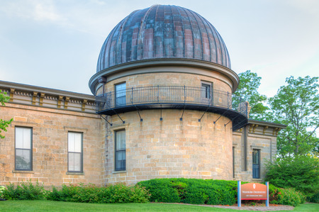 university of wisconsin: MADISON, WIUSA - JUNE 25, 2014: Washburn Observatory on the campus of the University of Wisconsin. The University of Wisconsin is Big Ten university in the United States .