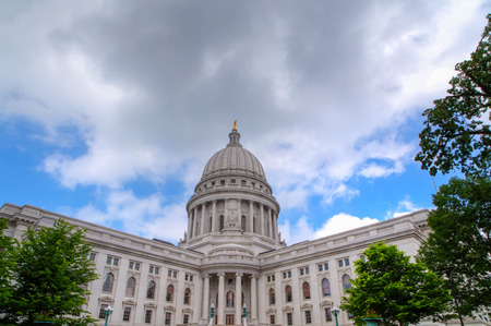 Wisconsin State Capitol Building in Madison, Wisconsin photo