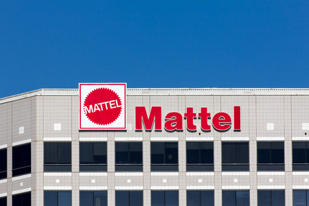 EL SEGUNDO, CAUSA - OCTOBER 13, 2014: Mattel world corporate headquarters building. Mattel, Inc. an American toy manufacturing company founded in 1945.