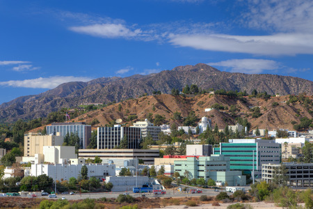 federally: LA CANADA FLINTRIDGE, CAUSA - OCTOBER 25, 2014: Jet Propulsion Laboratory Labratory. JPL is a federally funded research and development center and NASA field center. Editorial
