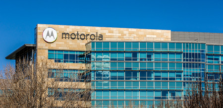 SANTA CLARA,CAUSA - FEBRUARY 1, 2014: Motorola headquarters in Silicon Valley. Motorola is a technology and telecommunications company owned by Google.