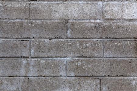 cinder: Close-up of Cinder Block Wall Background or Backdrop