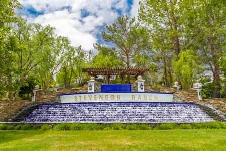 chacra: Landmark Stevenson Ranch cascada en Stevenson Ranch, California