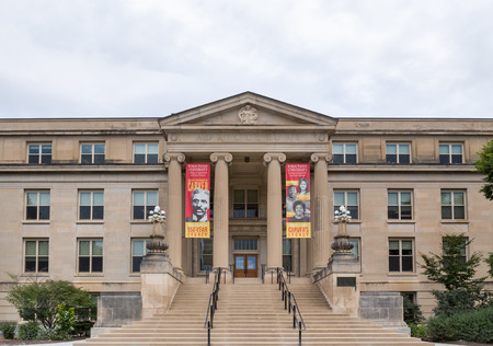 iowa agriculture: AUGUST 6, 2015: Curtiss Hall on the campus of  Iowa State University. Editorial