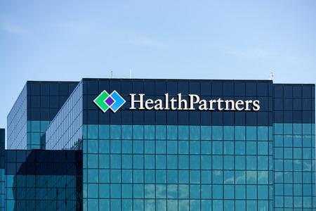 payer: BLOOMINGTON, MNUSA - August 12, 2015: HealthPartners headquarters building. HealthPartners is an integrated, nonprofit health care provider.