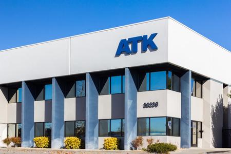 VALENCIA CAUSA - DECEMBER 26, 2015: ATK Services headquarters  Editorial