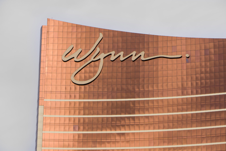 steve: LAS VEGAS, NVUSA - FEBRUARY 14, 2016: Wynn Las Vegas luxury resort and casino located on the Las Vegas Strip. The Wynn is named after casino developer Steve Wynn and is the flagship property of Wynn Resorts Limited.