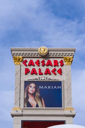 caesars palace: LAS VEGAS, NVUSA - FEBRUARY 14, 2016: Caesars Palace hotel and casino. Caesars Palace is luxury hotel and casino on the the Las Vegas Strip.