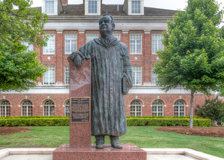 henry: STILLWATER, OKUSA - MAY 20, 2016: Henry G. Bennett Statue on the campus of Oklahoma State University.