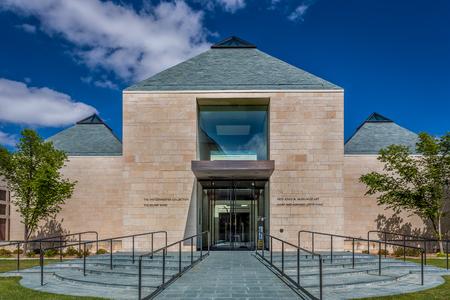 NORMAN, OKUSA - MAY 20, 2016: Fred Jones, Jr. Museum of Art at the University of Oklahoma  at the University of Oklahoma. Editorial