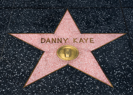famous industries: HOLLYWOOD, CAUSA - JULY 9, 2016:  star on the Hollywood walk of fame.