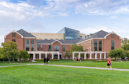 esther: LINCOLN, NEUSA - OCTOBER 2, 2016:  The Esther L. Kauffman Academic Residential Center on the campus of the University of Nebraska.