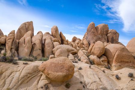 joshua tree national park: Spectacular rock formations at Joshua Tree National Park, California, USA.