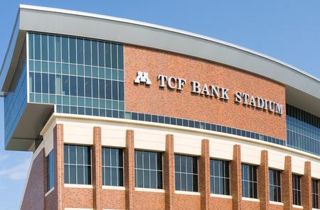 TCF Bank Stadium op de campus van de Universiteit van Minnesota.