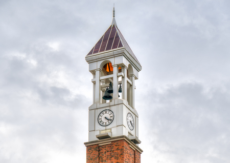 WEST LAFAYETTE, IN/USA - OCTOBER 22, 2017: Purdue Bell Tower on the campus of the Purdue University. Editorial
