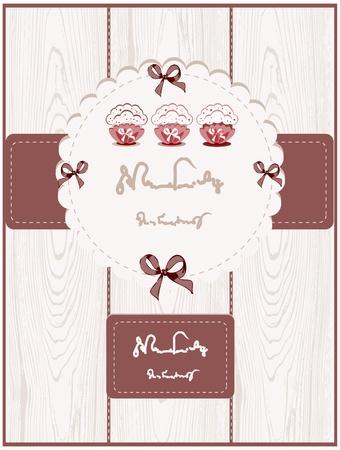 Cute Cupcake Card